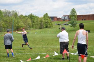 Chris Bagnell Sophomore Javelin SOL championship Bagnell Chiropractic